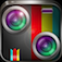 Imagem do aplicativo Split Lens-Clone yourself&Best Photo Blender,Mix Pic with Awesome filters and Mirror Effects