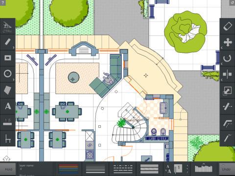 Imagem do aplicativo CAD Touch