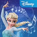 Imagem do aplicativo Disney Karaoke: Frozen uma Aventura Congelante