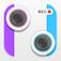 Imagem do aplicativo Split Lens 2 Photo Video Editor-Clone Yourself,Fun Videos Maker,+Filters,FX&Frame!