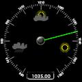 Imagem do aplicativo Barometer