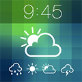 Imagem do aplicativo Weather Lock Screen - Customize your Lock Screen Backgrounds with Weather Forecast