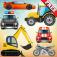 Imagem do aplicativo Veículos e carros crianças